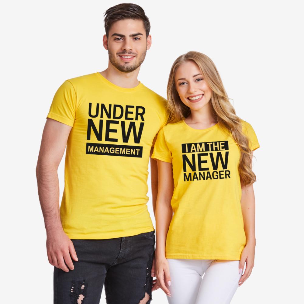 Majice za zaljubljene New Manager