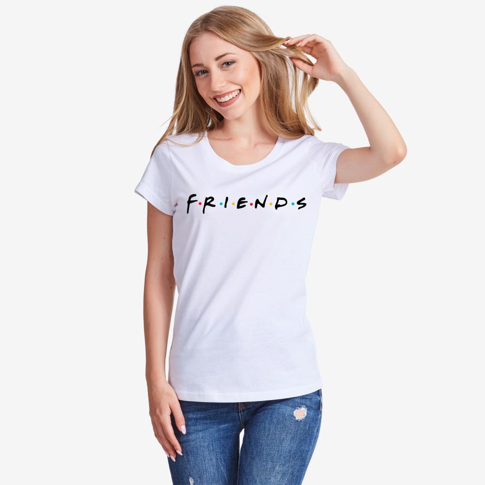 Ženska bijela majica Friends