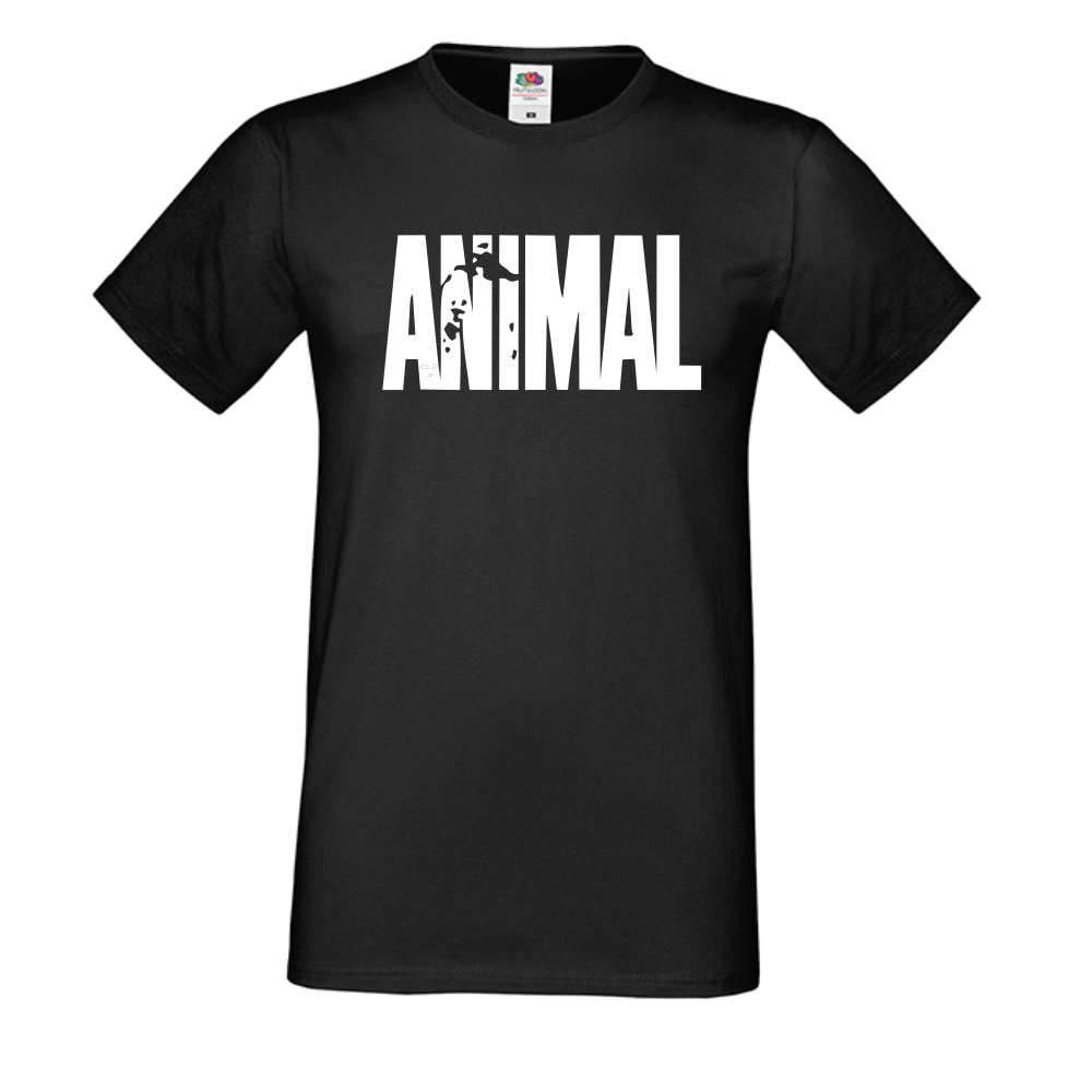 Muška crna majica Animal