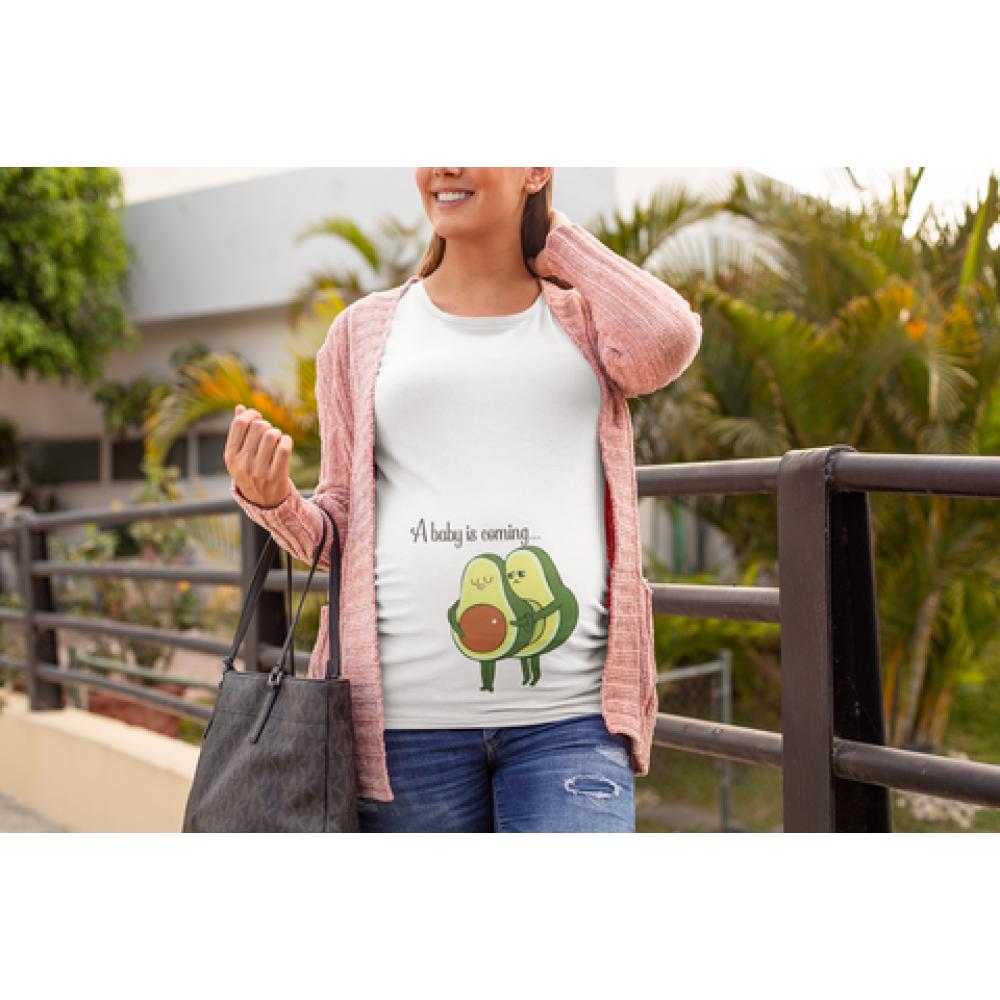 Ženska bijela majica Avocado