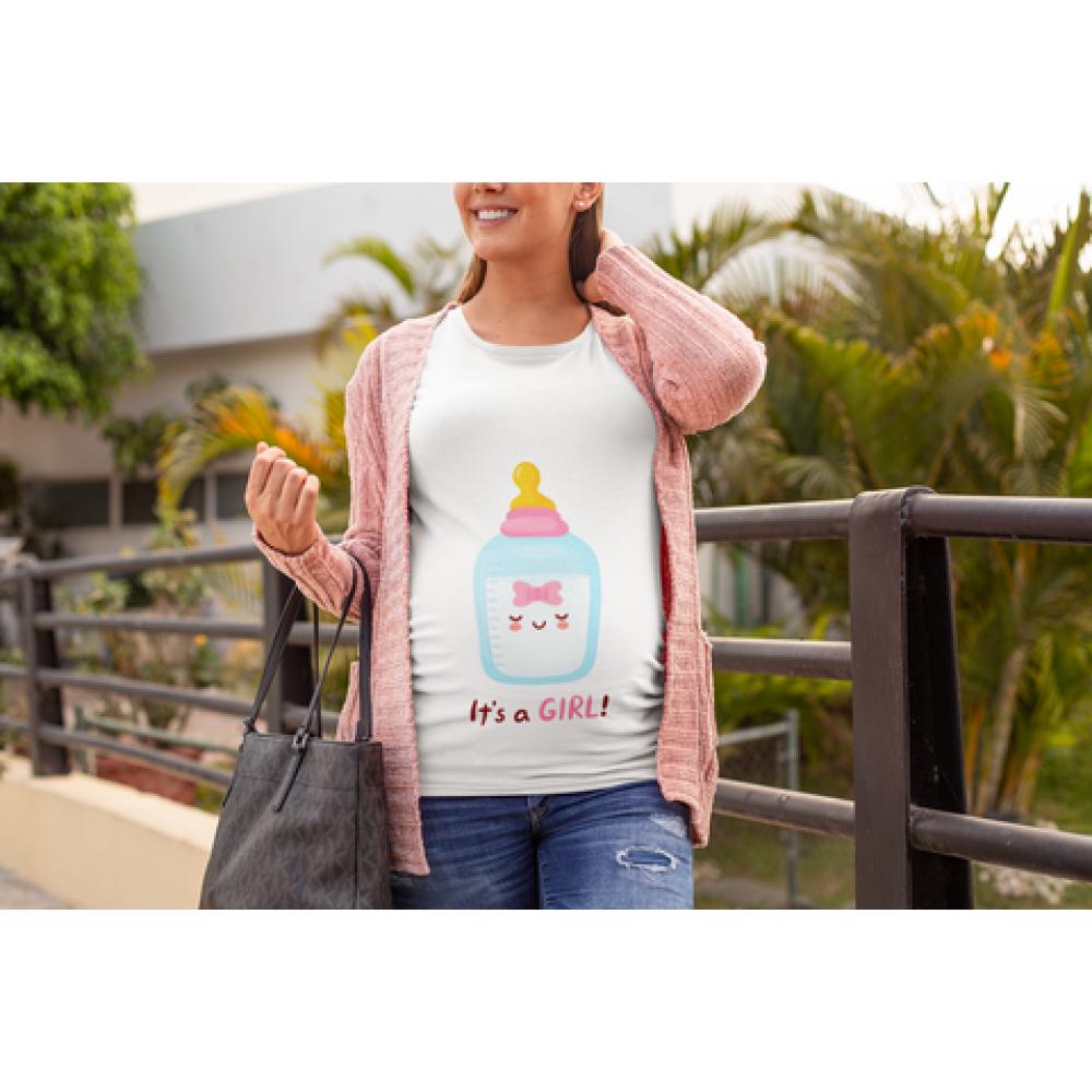 Ženska bijela majica Bottle Girl