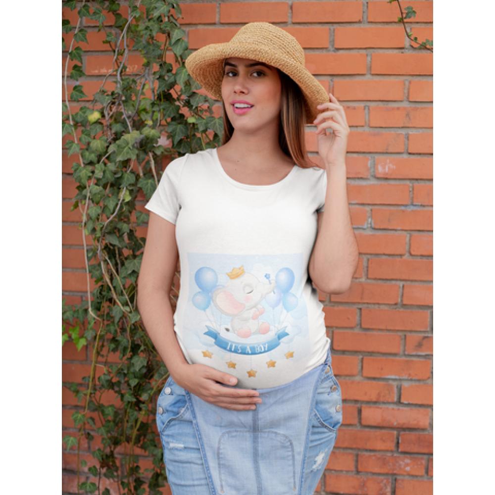 Ženska bijela majica Elephant Boy