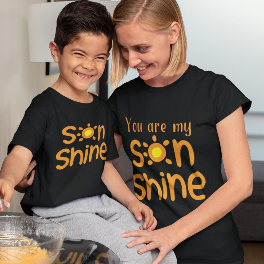 Majice za majku i sina Sonshine