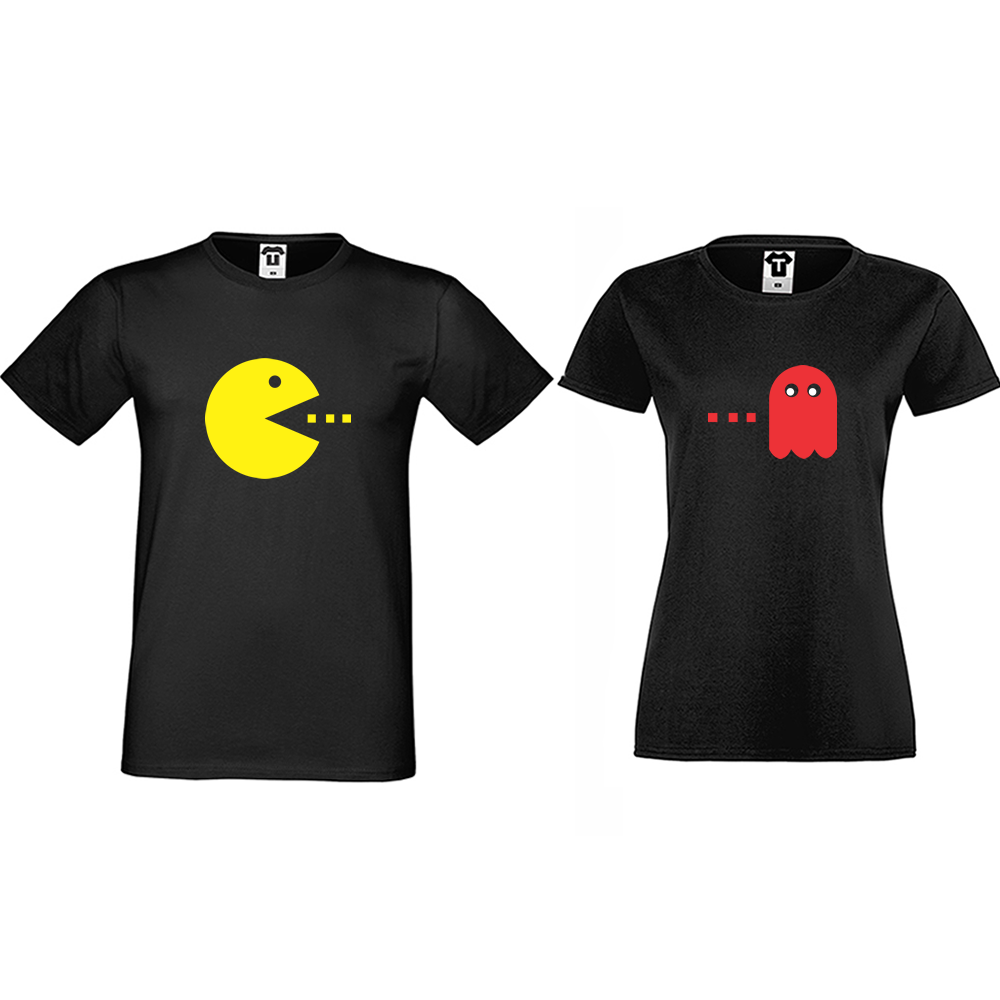 Majice za parove PAC-MAN
