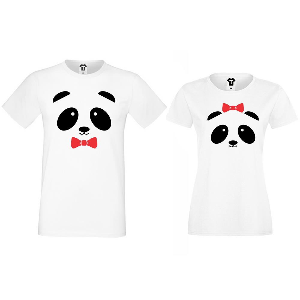 Majice za parove Sweet Panda