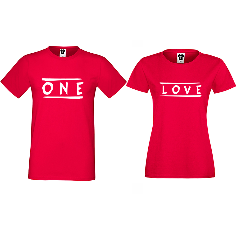 Majice za parove One Love