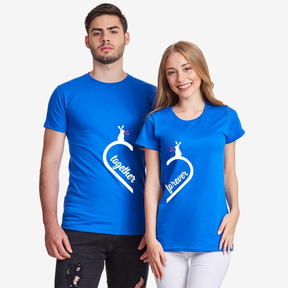 Majice za parove Together Forever Bunny