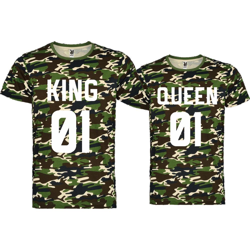 Majice za zaljubljene  KING 01 QUEEN 01