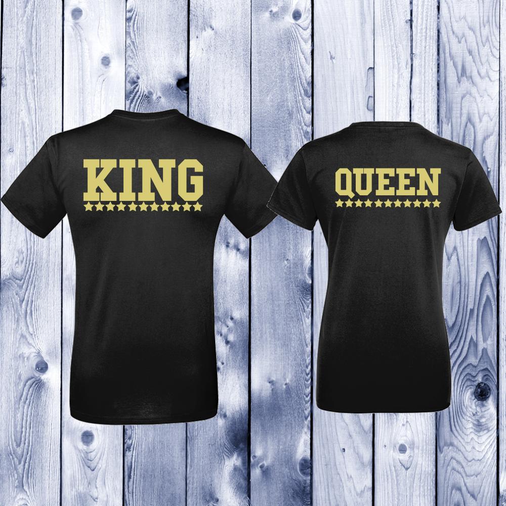 Majice za zaljubljene King - Queen