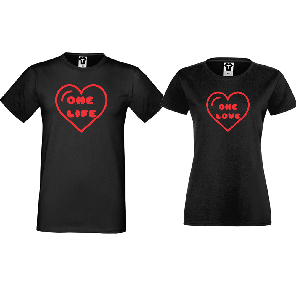 Majice za zaljubljene One Life - One Love