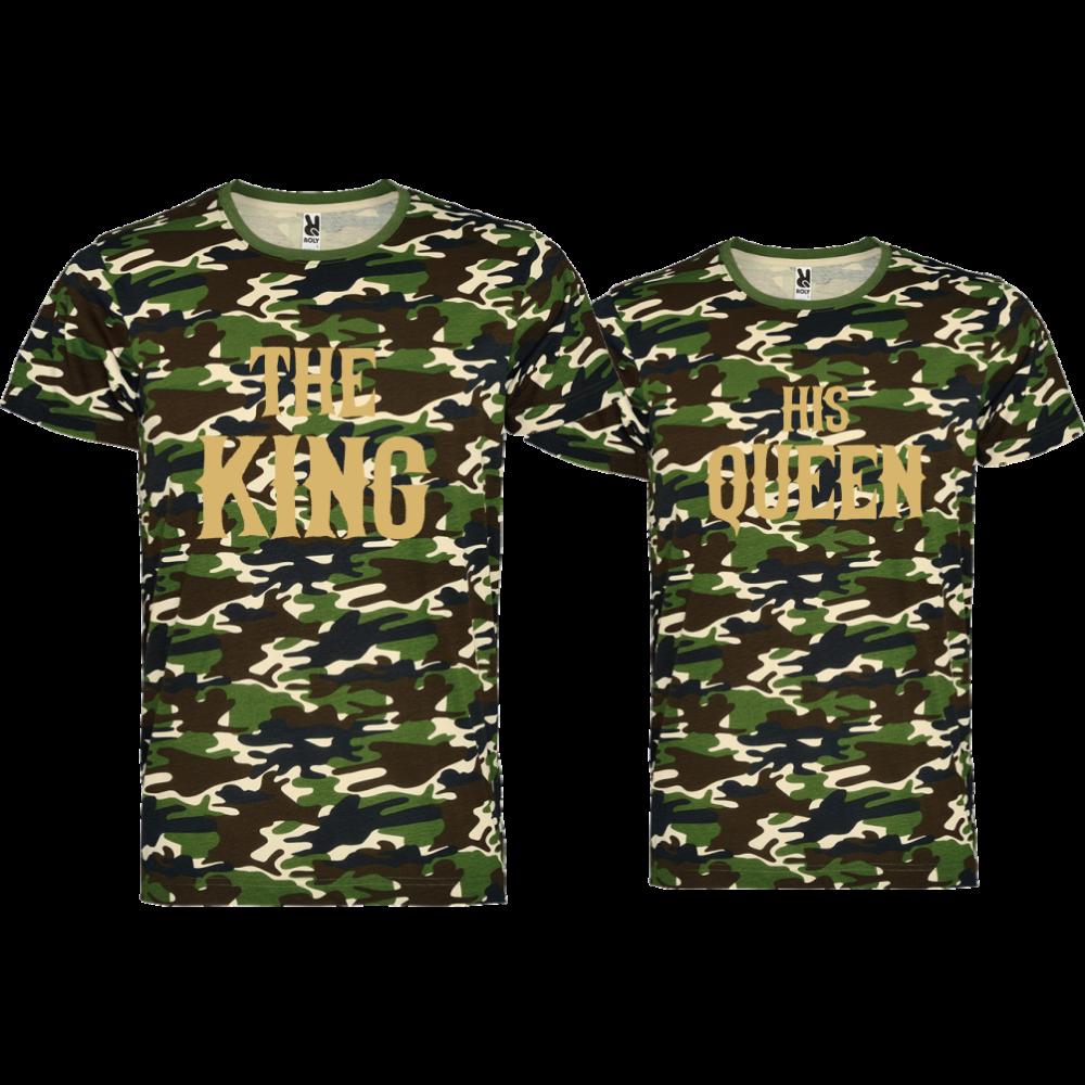 Majice za zaljubljene  THE KING HIS QUEEN