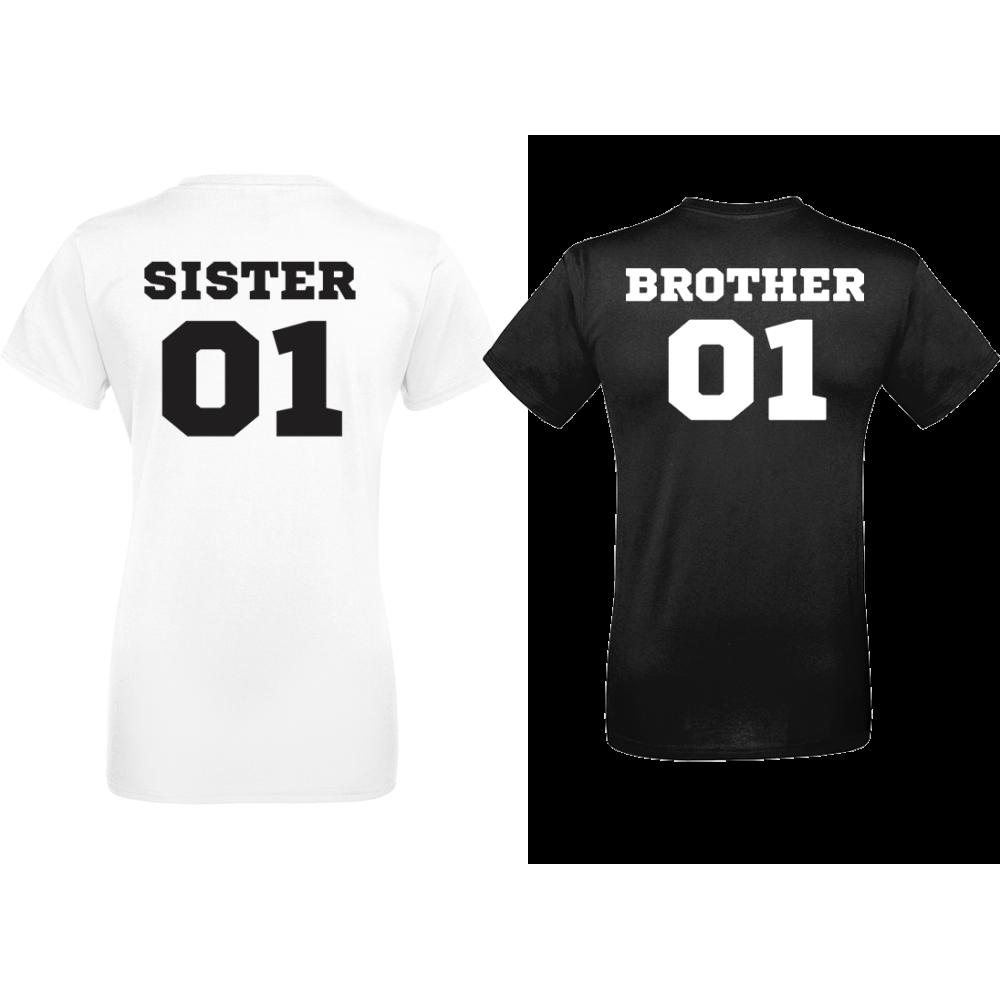 Set Majice SISTER & BROTHER 01