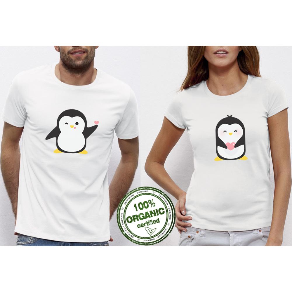 Majice za zaljubljene  Penguin Love