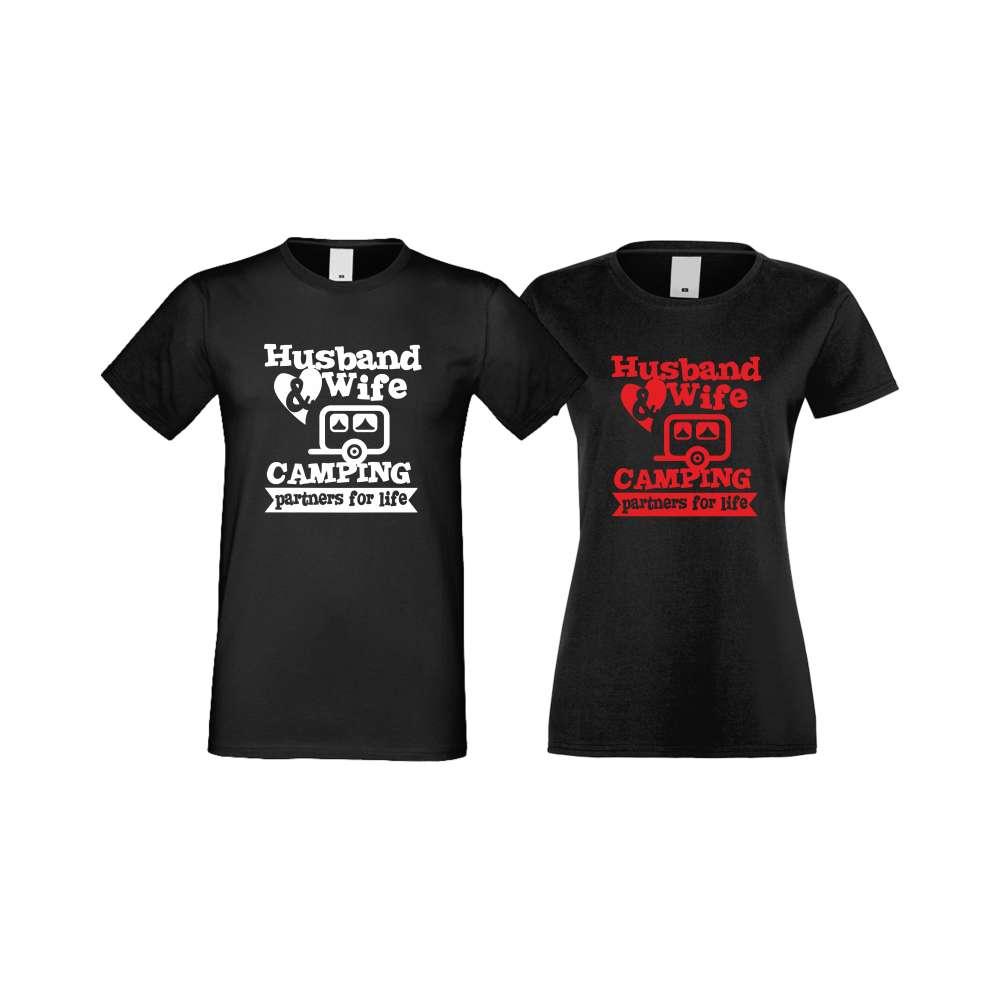Majice za zaljubljene Camping Couplе