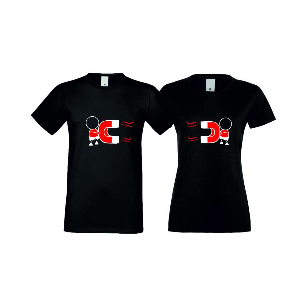 Majice za zaljubljene MAGNETS LOVE