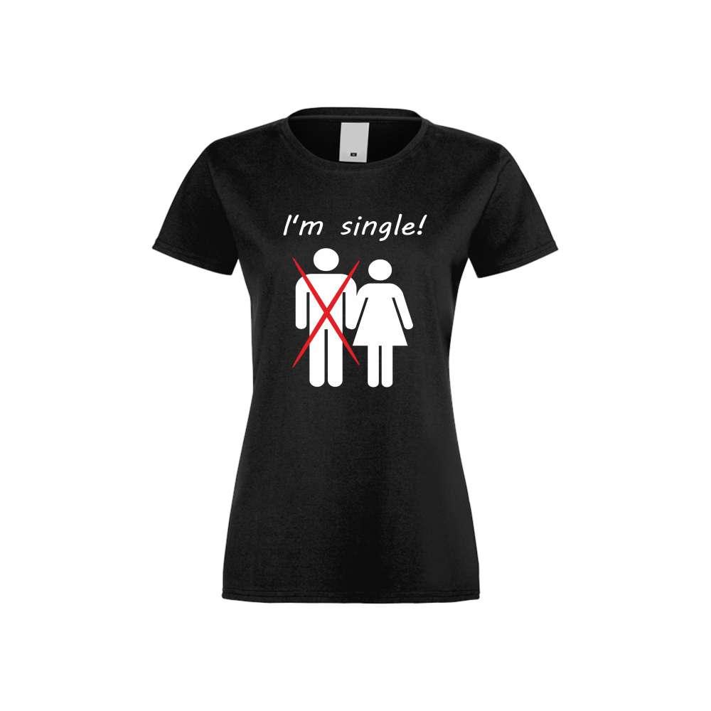 Ženska majica I'm single