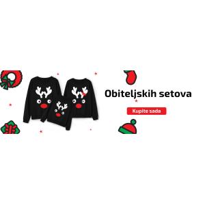 Napravite originalni poklon za Božić - s majicama za parove