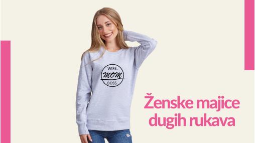 Ženske majice dugih rukava - TShirt24.com.hr