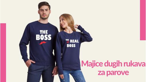 Majice dugih rukava za parove - TShirt24.com.hr